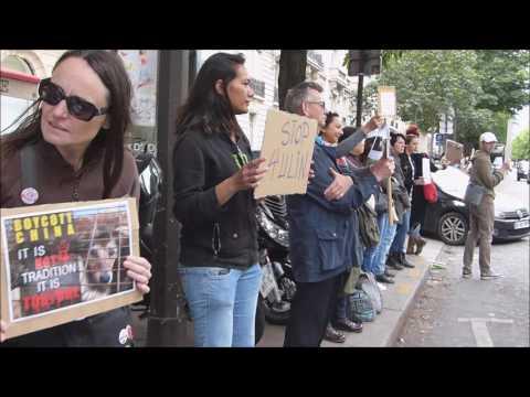 Stop au festival de Yulin (Paris-14 juin 2016)