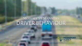 NZTA Driver Behaviour