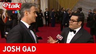 Josh Gad gives Ben Mulroney's daughter some interview tips | etalk