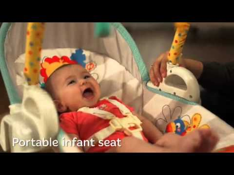 Fisher Price 3 in 1 Swing n Rocker Baby Bouncer