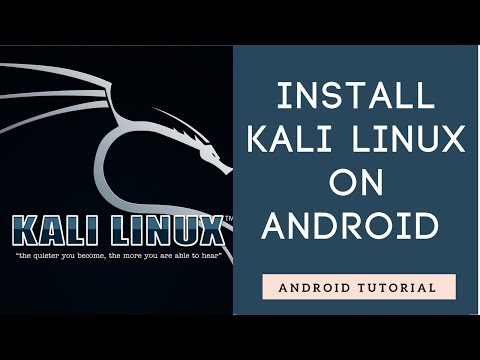 How To Install Kali Linux On Android - Linux Deploy Tutorial
