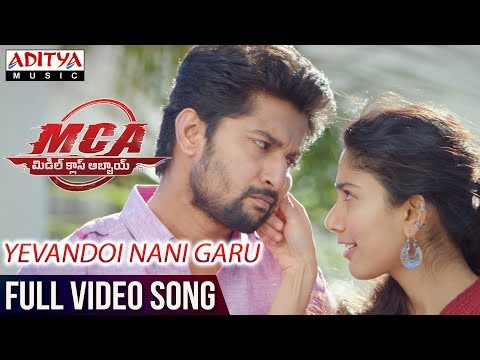 Mix - Yevandoi Nani Garu Full Video Song | MCA Full Video Songs | Nani, Sai Pallavi | DSP | Dil Raju