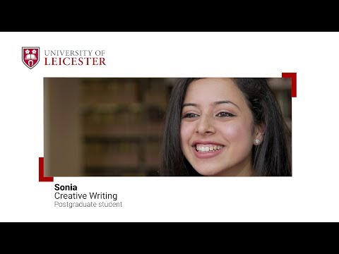 English - Postgraduate Study at the University of Leicester