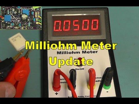Scullcom Hobby Electronics #43 - Milliohm Meter Update