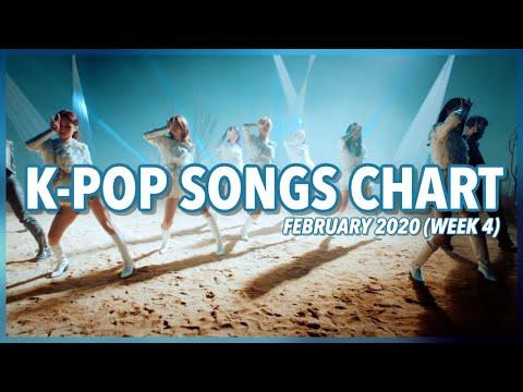 (TOP 100) K-Pop Songs Chart | February 2020 (Week 4)