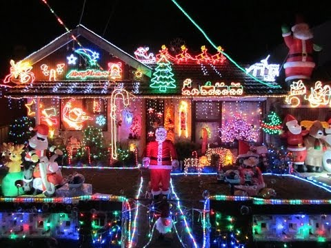Christmas Lights Australia 2013 - YouTube