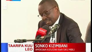 Breaking: Nairobi Governor Mike Sonko released on bail
