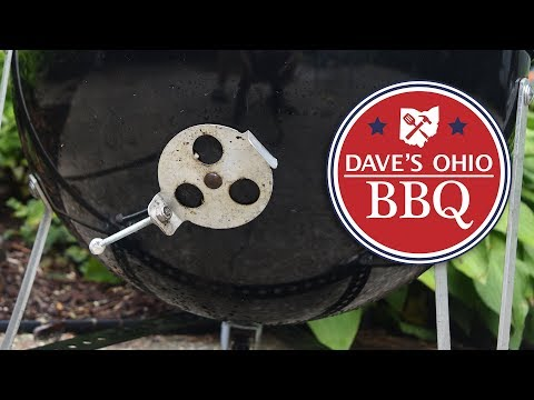 How to Replace Weber Vents. WSM Damper Vent Replacement