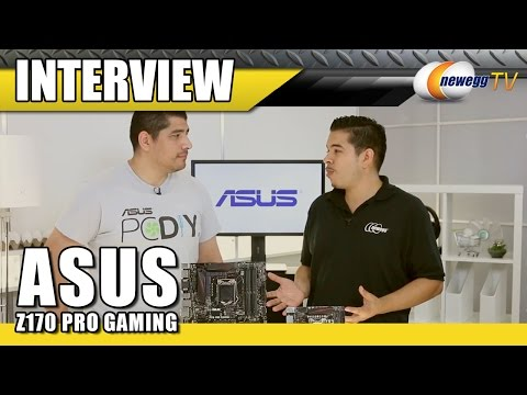 asus-z170-pro-gaming-series-motherboards---newegg-tv