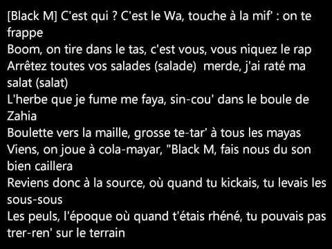 Black M Feat Dadju - Foncés Grosses Lèvres (paroles)