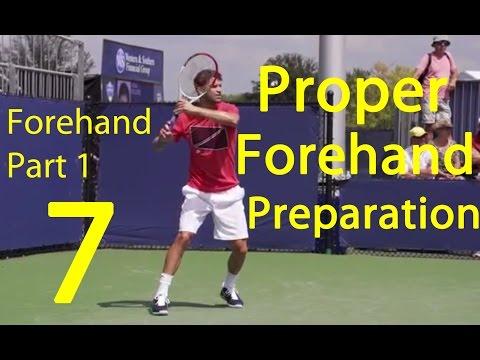 Tennis - Forehand Technique (Part 1)