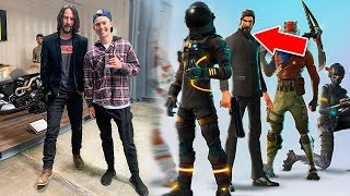 Meeting The Most Famous Fortnite Character In Real Life