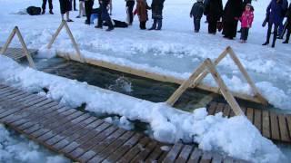 Крещение 2011, или как мы купались в проруби