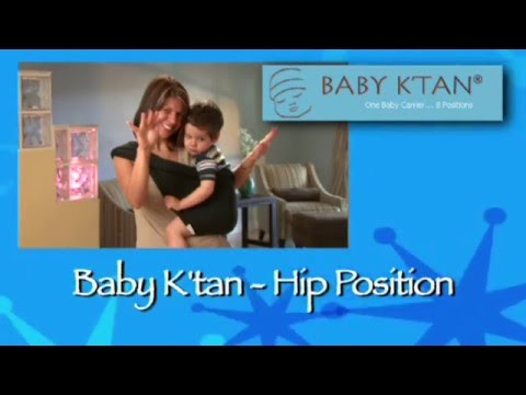 Baby Ktan Hip Position Instructions Youtube
