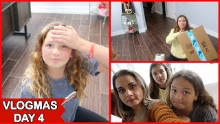 CHRISTMAS PRESENTS ARE STARTING TO ARRIVE TO OUR HOUSE | VLOGMAS DAY 4 | SISTERFOREVERVLOGS