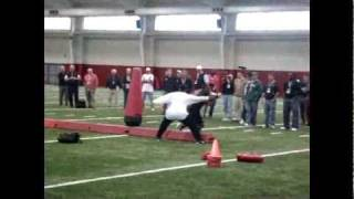 Mark Ingram at Alabama pro day 2011