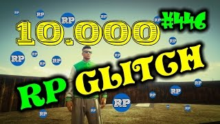 GTA 5 RP GLITCH - FAST RP GLITCH 10000 RP = 1 MINUTE GAMEPLAY GERMAN #446