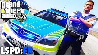 GTA 5 LSPD:FR - Flughafenpolizei mit AMG! - Deutsch - Polizei Mod #63 Grand Theft Auto V