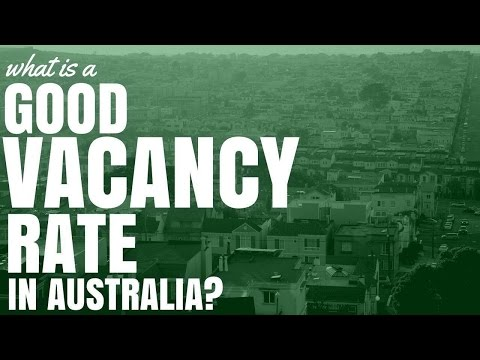 What Is A Good Vacancy Rate In Australia? (Ep158)