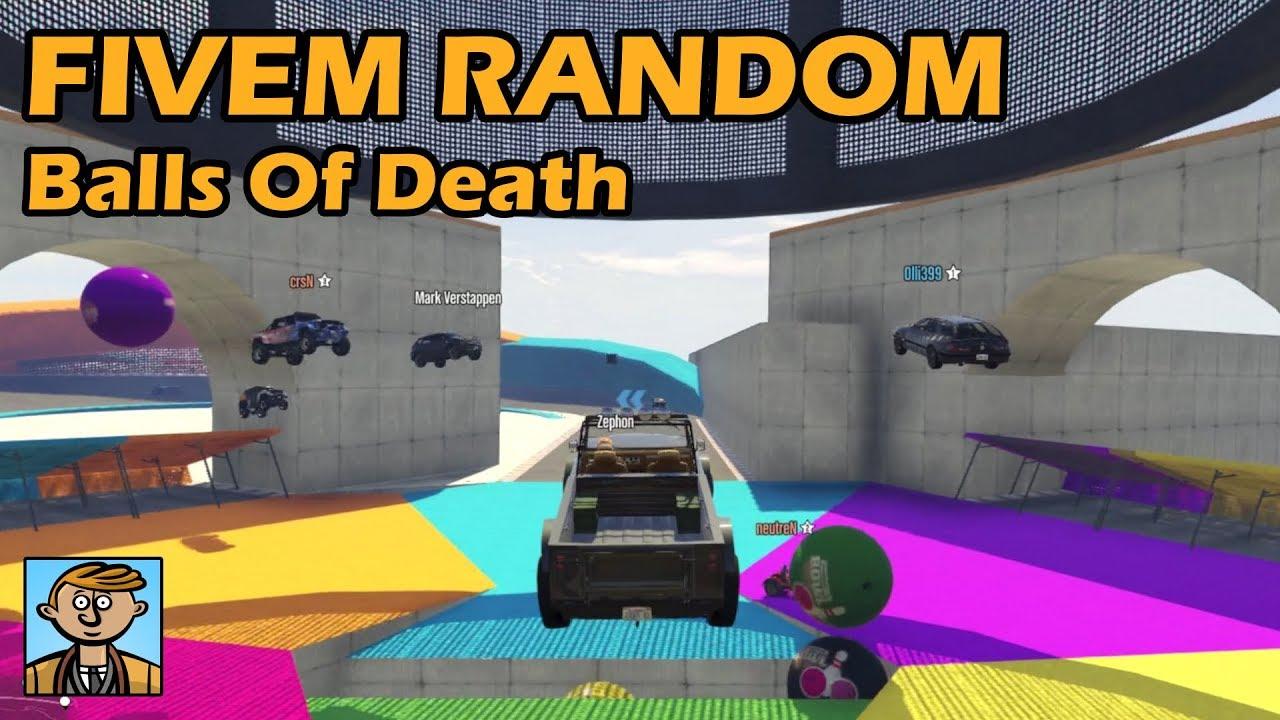 Balls Of Death - GTA FiveM Random Racing Live #52