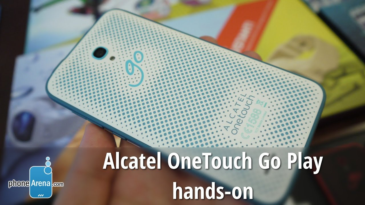 alcatel onetouch go play hands on youtube. Black Bedroom Furniture Sets. Home Design Ideas