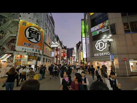 【4K】Back to Shibuya or testing new Zhiyun Crane V2