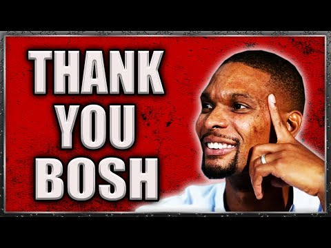 Why Chris Bosh is a NO-DOUBT HALL OF FAMER