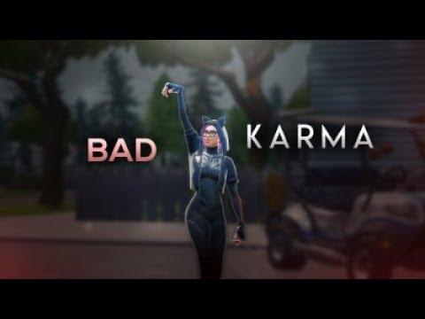 "Fortnite Montage - ""Bad Karma"" (Yung Garzi)"