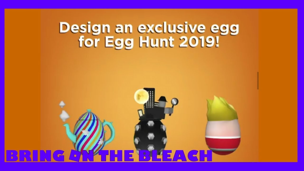 Roblox Easter 2019 EGG DESIGN CONTEST!!!