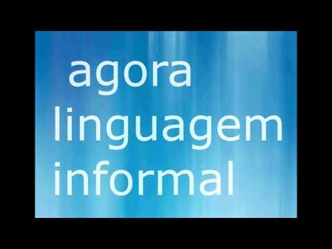 o que é linguagem formal e informal?