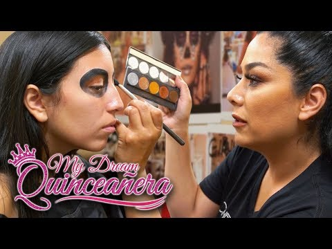 Day of the Dead Makeup | My Dream Quinceañera - Reunión Ep 6
