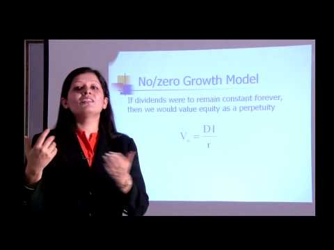 Equity valuation- Finance Class by Palak Rajani
