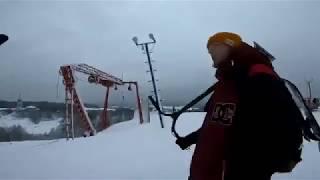 Krasava prod. Allpropark. Eretic snowscoot.
