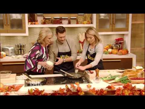 Ryan Seacrest's Mom Makes Oyster Casserole