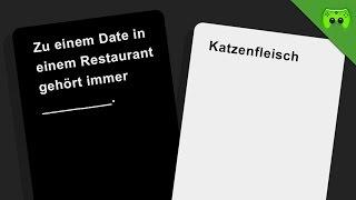 Jetzt mit richtigen Karten - Cards Against Humanity Runde 3 «» Let