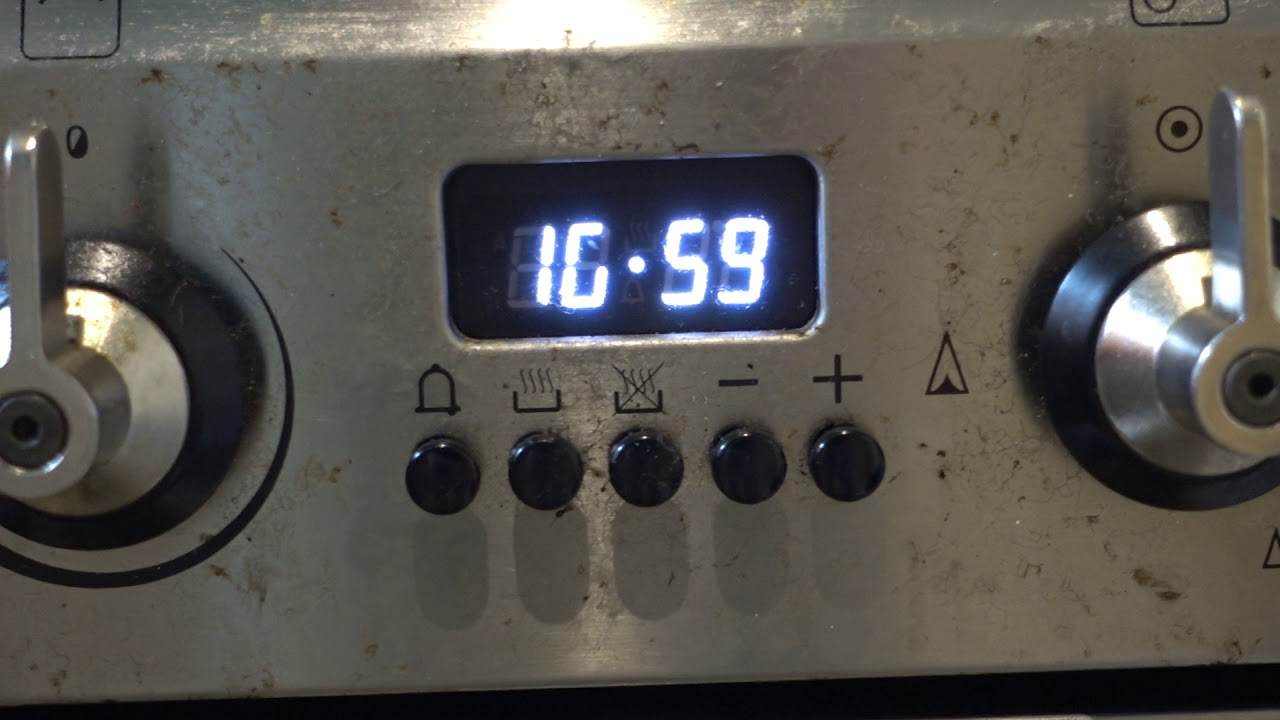 Smeg Wall Oven Wiring Diagram Nema 14 30p Not Working How To Reset The Timer Youtube