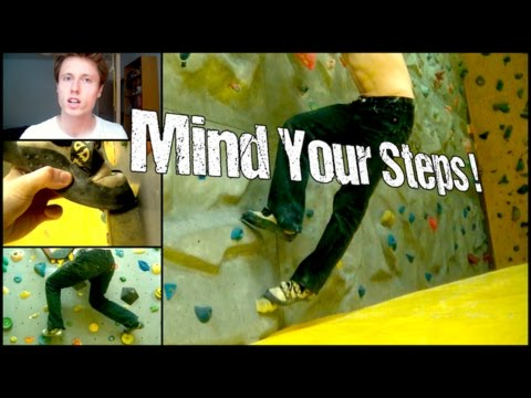 Rock Climbing Technique for Beginners : How To Improve Your Footwork Quickly !