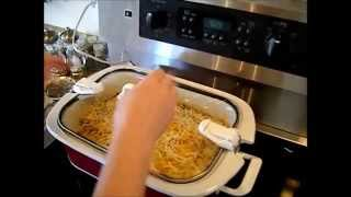 Crock Pot Casserole Series - Cheesy Chicken & Rice
