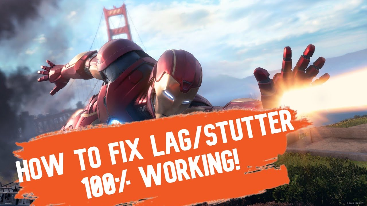 Download how to fix lag/stutter! in MARVEL AVENGERS GAME  ryzen 5 1600