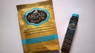 Reseña Tratamiento intenso Aceite de Argán  para cabello seco y quebradizo