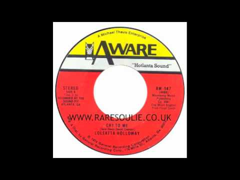 Loleatta Holloway - Cry To Me - Aware