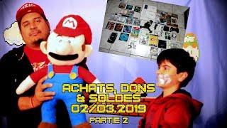 (EP65) Achats, Dons & Soldes Février & Mars 2019 (part2)
