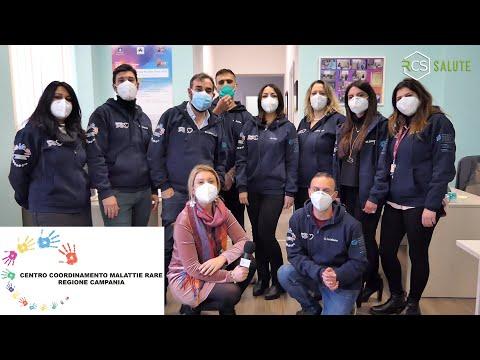 Il Team del Centro di Coordinamento Malattie Rare Regione Campania