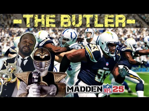 """Madden NFL 25 - Dwight Freeney """" THE BUTLER DID IT """" Crazy ! Madden 25 - Online Ranked Match"""