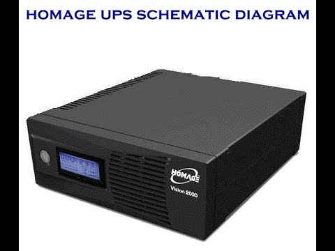 how to repair homage ups homage ups circuit daigram youtube rh youtube com homage ups circuit diagram 1000va pdf 1000 Watt Inverter Circuit Diagram