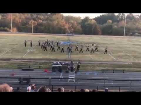 Monroe County High School Falcon Marching Band 2018