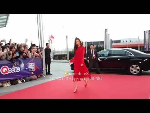 171201 MAMA2017 Red Carpet Runway - SUNMI