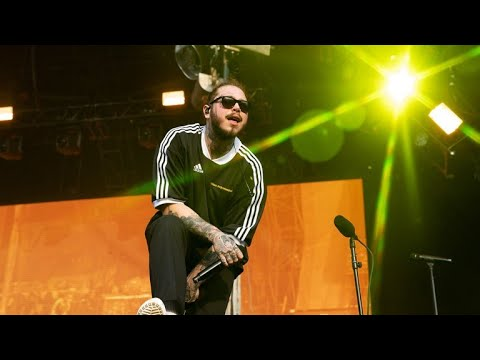 Better Now - Post Malone (LIVE at Governer's Ball 2018)