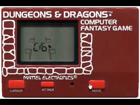 Dungeons & Dragons Computer Fantasy Game (electronic game, Windows remake) |