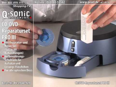 q sonic cd dvd blu ray reparaturset pro iii youtube. Black Bedroom Furniture Sets. Home Design Ideas